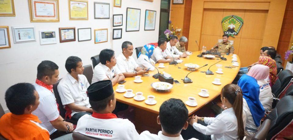 Adnan Terima DPD Partai Perindo Gowa