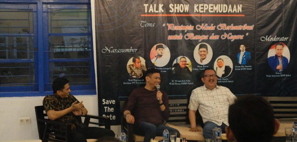 Adnan Jadi Pembicara pada Talkshow Kepemudaan