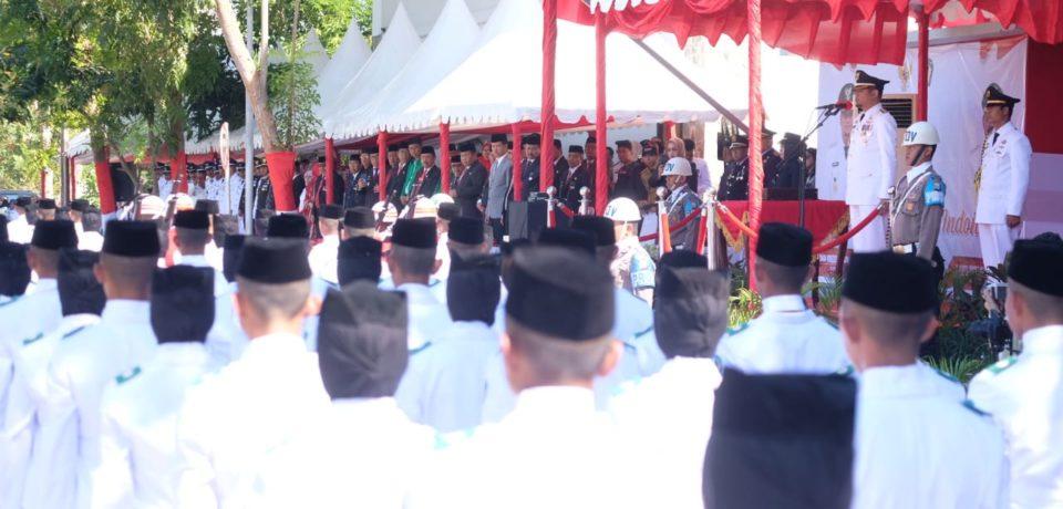 Kabupaten Gowa Peringati Detik-Detik HUT Proklamasi RI