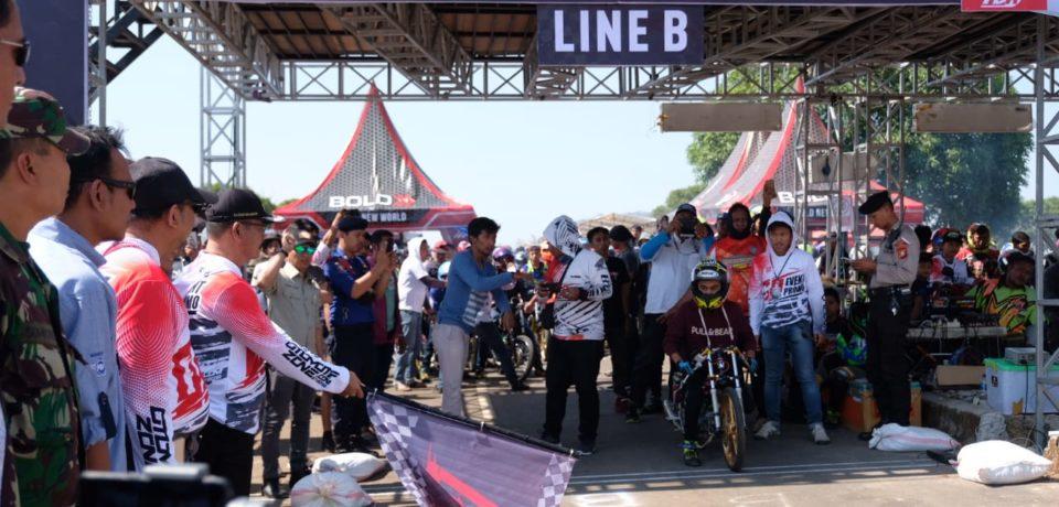 Kejurnas Drag Bike Kembali Dilaksanakan di Gowa
