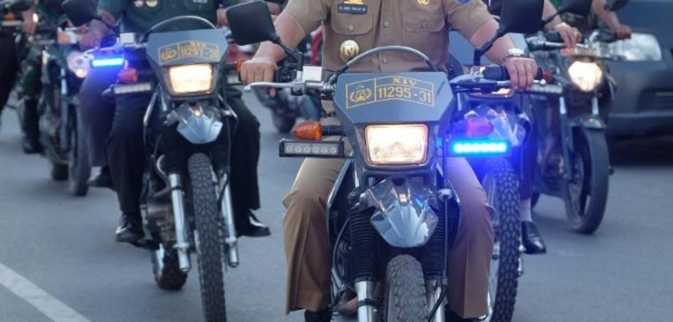 Wabup Gowa Ikut Patroli Gabungan Pengamanan