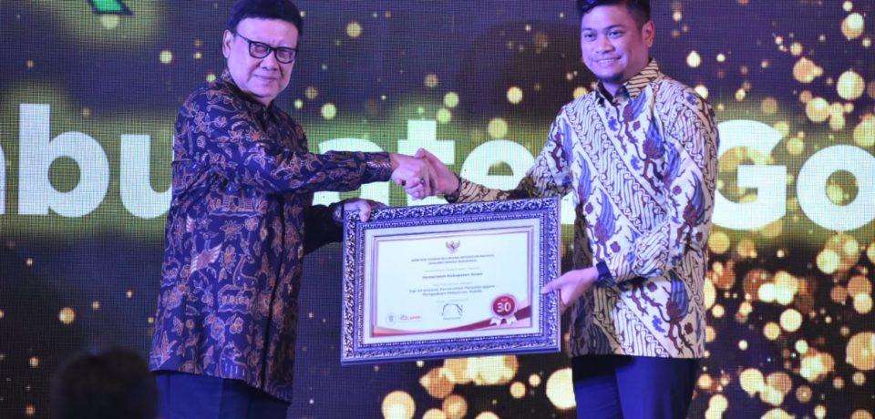Pelayanan Publik Pemkab Gowa Masuk Top 30 Terbaik se-Indonesia