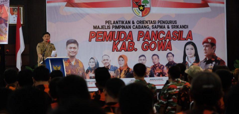 Kader Pemuda Pancasila Gowa Harus Bisa Bangun Karakter Daerah di Lingkungan Masyarakat
