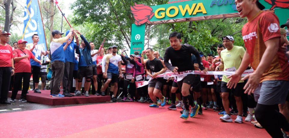 Lepas 600 Runners, Adnan: Gowa Miliki Lokasi Wisata yang Beragam