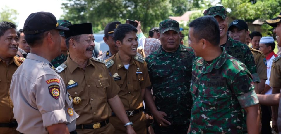 Wabup Gowa Tinjau Lokasi Pembangunan Pasar Rakyat, Kantor Polsek dan Koramil di Pattalassang
