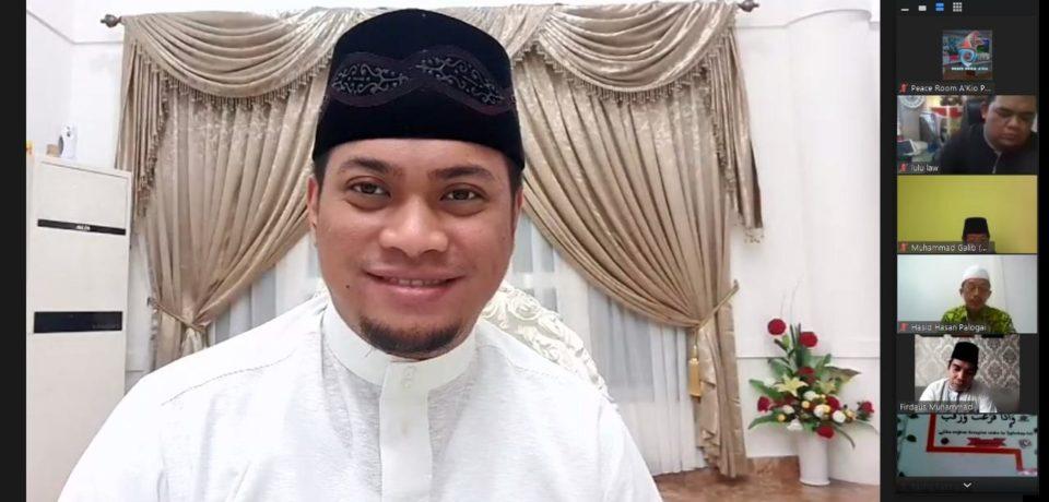 Bupati Adnan Jadi Narasumber dialog Ramadan Memakmurkan Masjid Pasca Covid-19