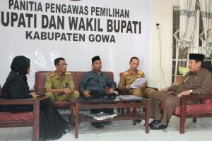 Kunjungan Penjabat Bupati Gowa ke Panwas