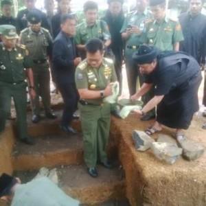 Peletakan Batu Pertama Pembangunan Masjid An-Nadzir