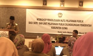 Workshop Pengelolaan Mutu Pelayanan Publik