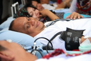 Kegiatan Donor Darah Dalam Rangka Hardiknas 2016