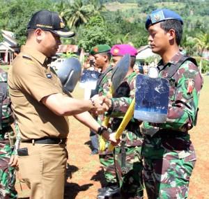 TMMD Ke-96 di Kecamatan Bungaya