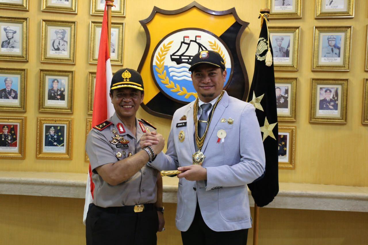 Bupati Raih Penghargaan Honorary Police Dari Kapolda
