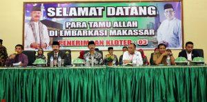 Pelepasan Kloter 3 JCH Embarkasi Hasanuddin Makassar