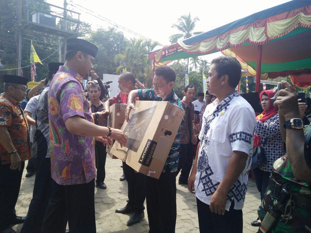 Bupati dan Dandim 1409 Canangkan Manunggal TNI-KB-Kesehatan
