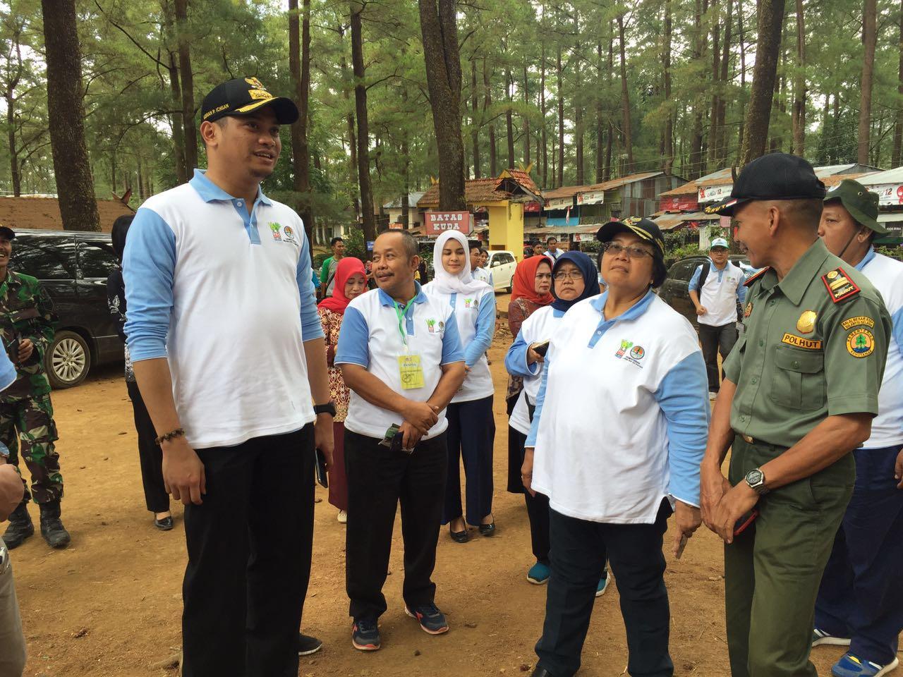 Menhut RI Tinjau Wilayah Pengembangan Kebun Raya Malino