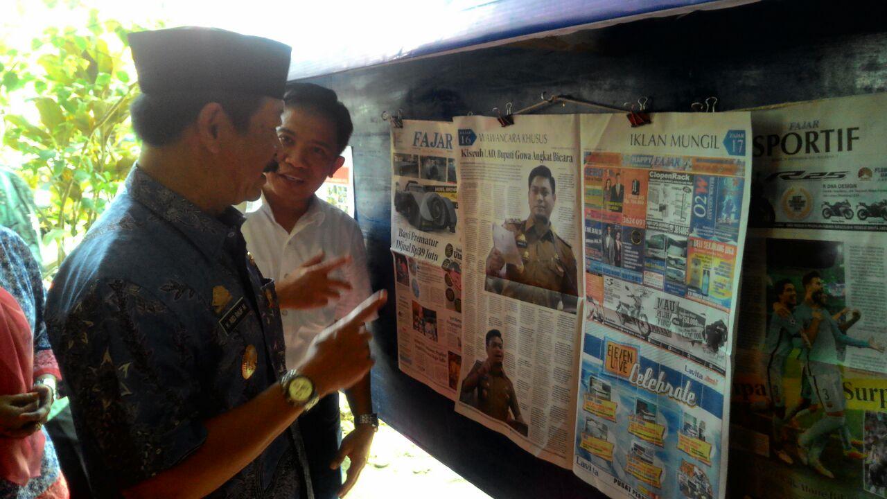 Somba Opu Membangun Budaya Baca dan Budaya Bersih