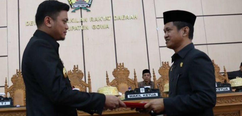 APBD Perubahan Kabupaten Gowa TA. 2016 Disahkan