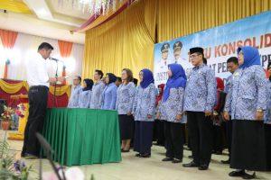 Pengukuhan IPeKB DPC Kabupaten Gowa