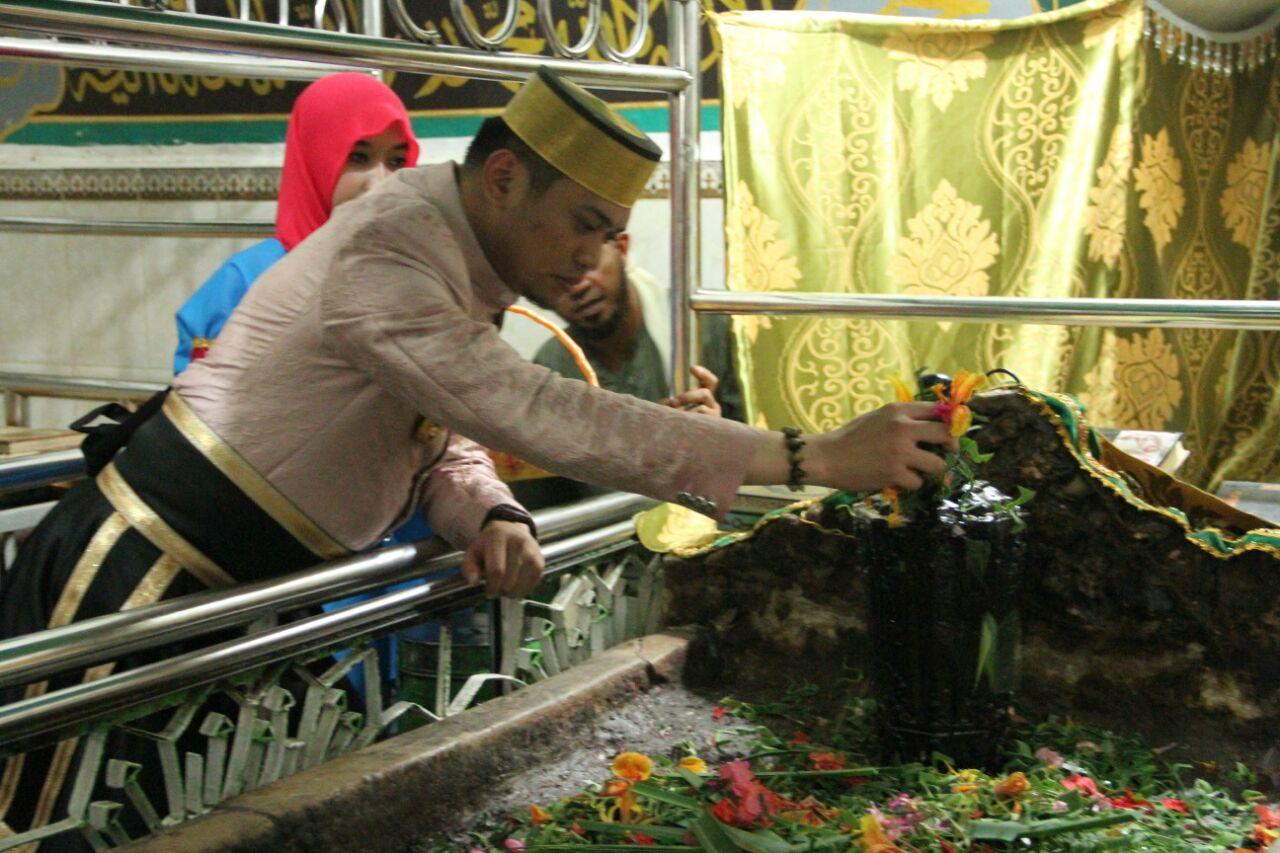 Bupati dan Wabup Ziarah Makam Sultan Hasanuddin dan Syekh Yusuf