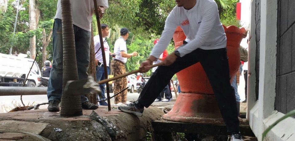 Bupati Ikut Bersihkan Gowa, Untuk Tingkatkan Kesadaran Kebersihan Warganya