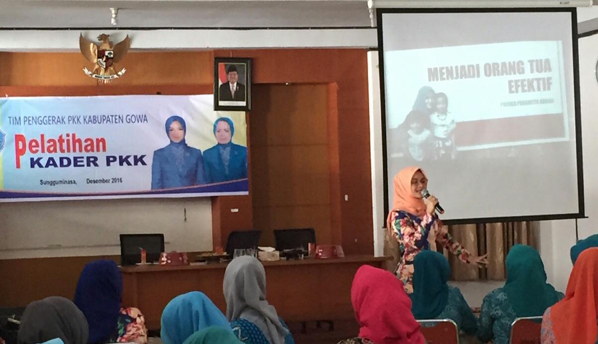 PKK Gelar Pelatihan Peningkatan Kapasitas Pengurus