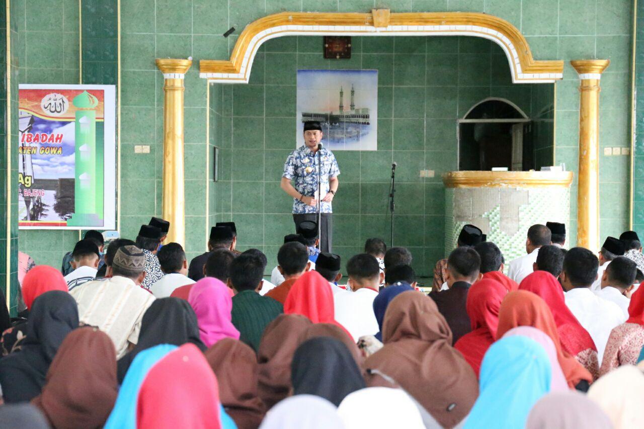 Adnan : Sekolah Gowa Wajib Jalankan Jumat Ibadah