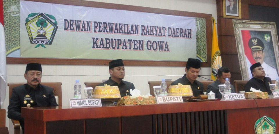DPRD Puji Ide Rencana Dana Cadangan Pemkab Gowa