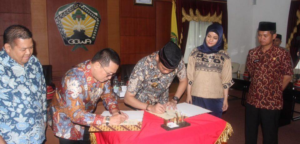 Pemkab Gowa-Putera Sampoerna Foundation Kembali Jalin Kerjasama
