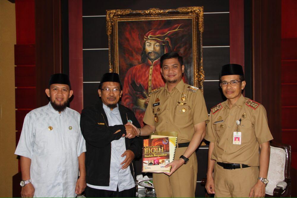 Wahdah Islamiyah Silaturahmi dengan Bupati Gowa