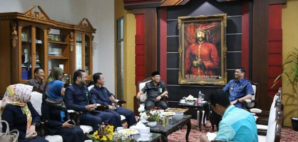 Ketua Pengadilan Agama Silaturahmi Dengan Bupati Gowa