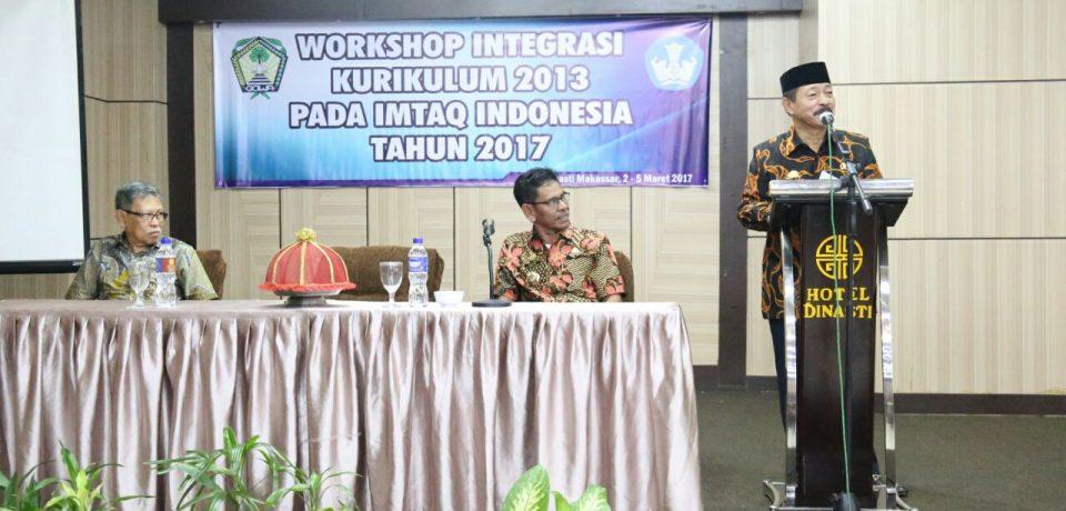Wabup Buka Workshop Integrasi Kurikulum 2013 Imtaq Indonesia