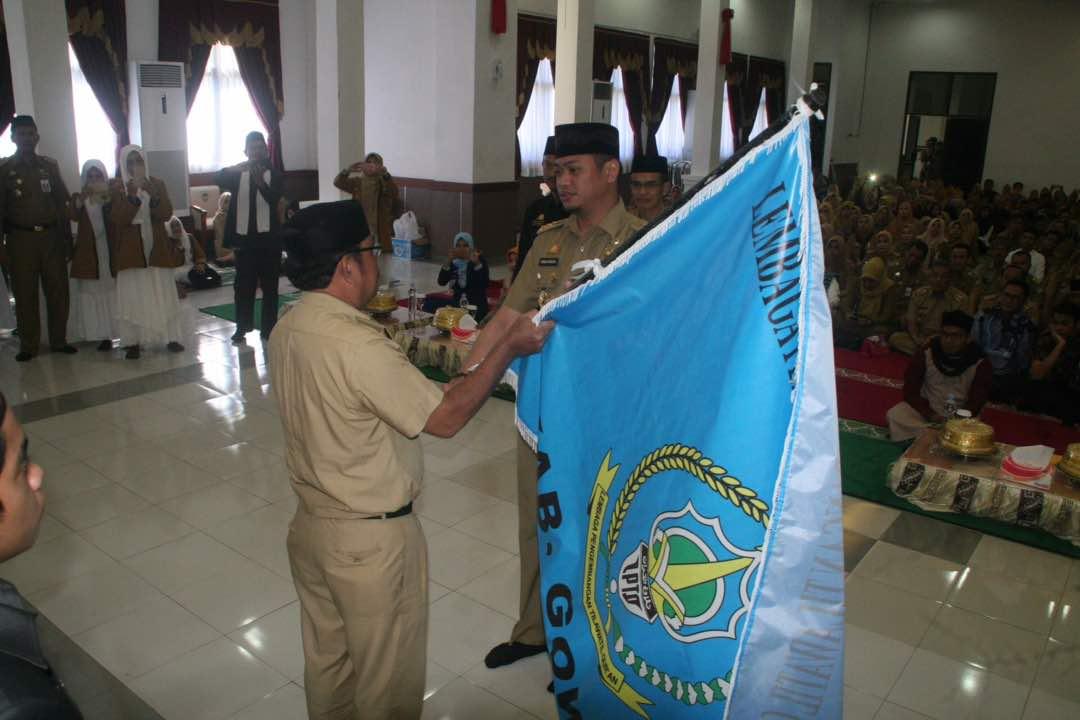 Bupati Lepas Kontingen STQ Ke-30 Pada Peringatan Isra Miraj