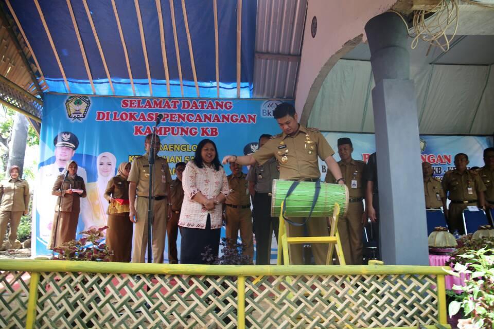 Adnan Resmi Canangkan Kampung KB di Dua Kecamatan