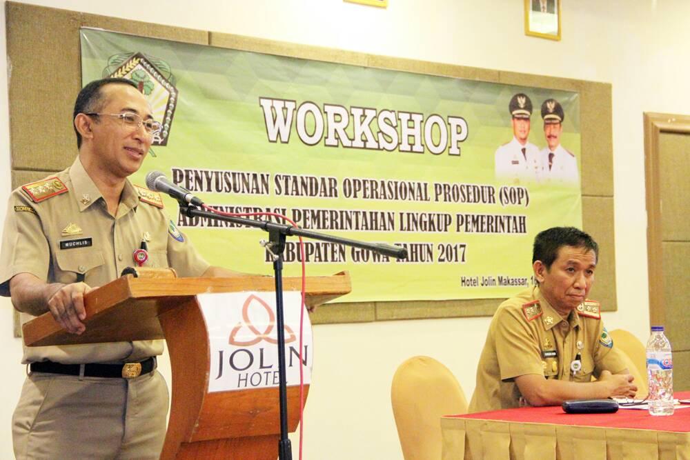 ASN Pemkab Gowa Ikut Workshop Penyusunan SOP-AP
