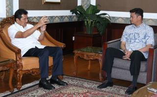 Menteri PAN RB Terima Kunjungan Adnan