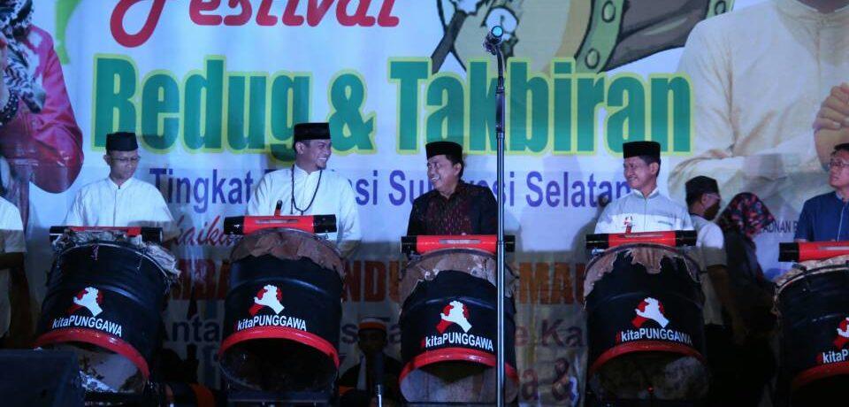 Adnan Buka Festival Bedug dan Takbiran