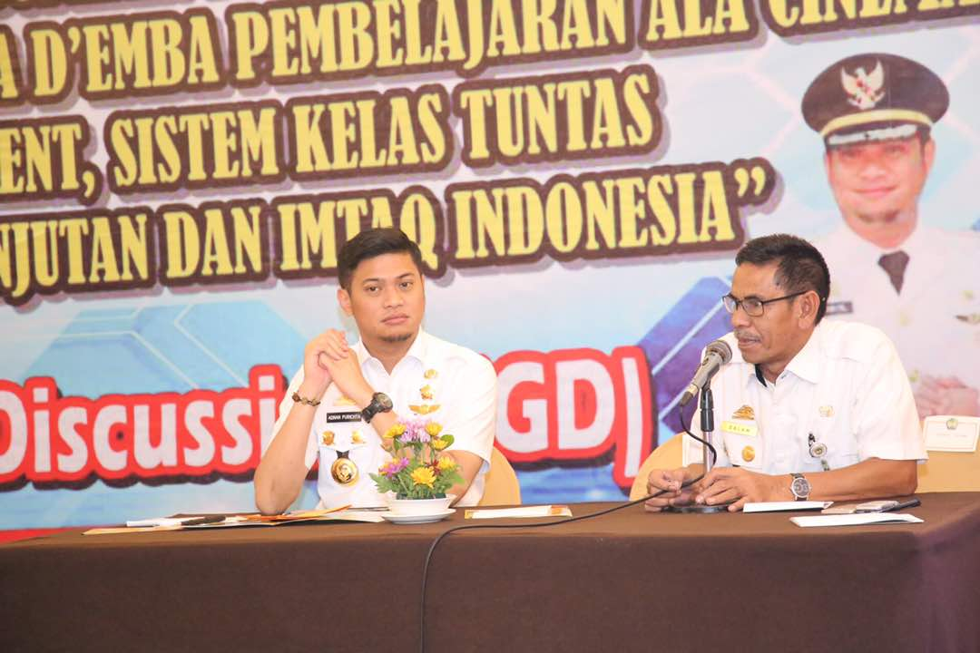 Adnan Jadi Narasumber di Acara Focus Group Discussion