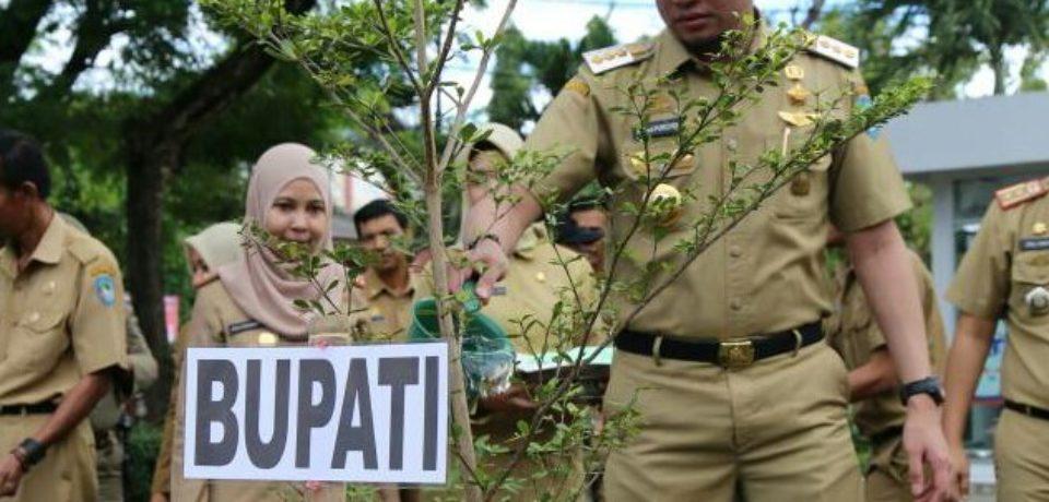 Penanaman Pohon Warnai Peringatan HLH Se-Dunia di Gowa