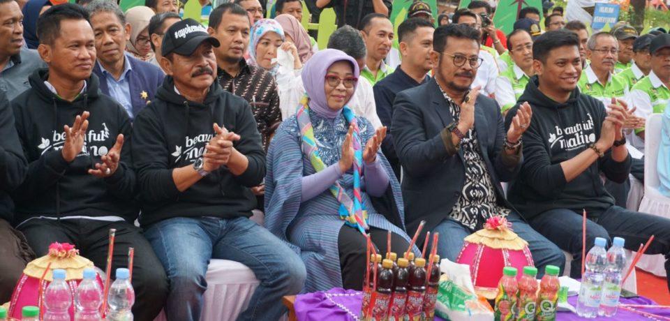 Gubernur Launching Gowa Heritage di Hutan Pinus Malino