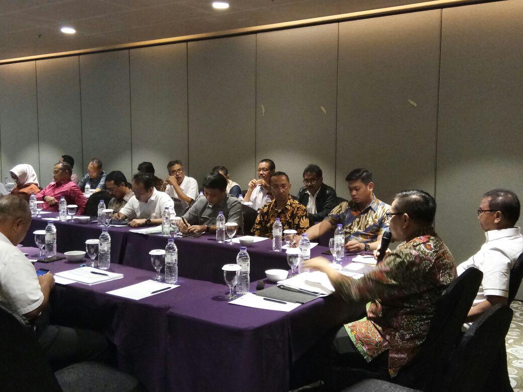 Adnan Hadiri Rakor Perkembangan Proyek SPAM Mamminasata