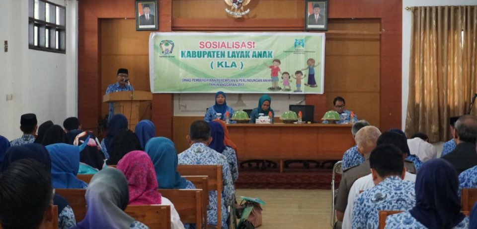 Wabup Buka Sosialisasi Kabupaten Layak Anak dan Sosialisasi Perda KDRT