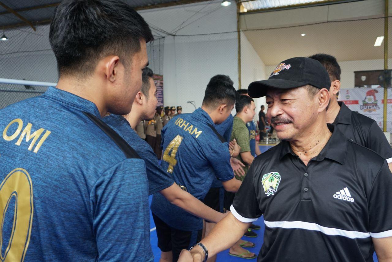Wabup Buka Turnamen Futsal Bupati Cup II