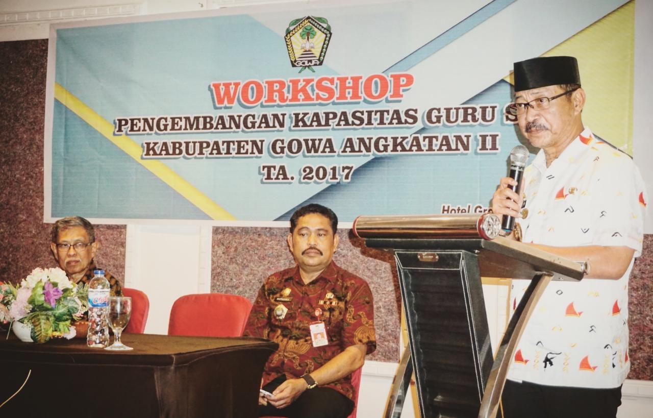 Wabup Gowa : SKTB Diharapkan Antar Gowa Menuju Kabupaten Pendidikan