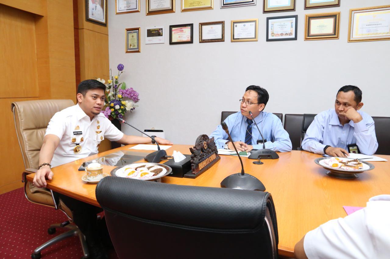 Temui Bupati, KPP Pratama Sungguminasa Paparkan Program Kerja Tahun 2018