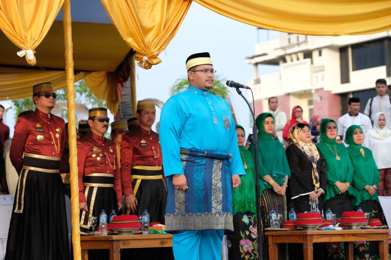 Pangeran Malaysia Jadi Irup Pergantian Jaga Pasukan Tubarani