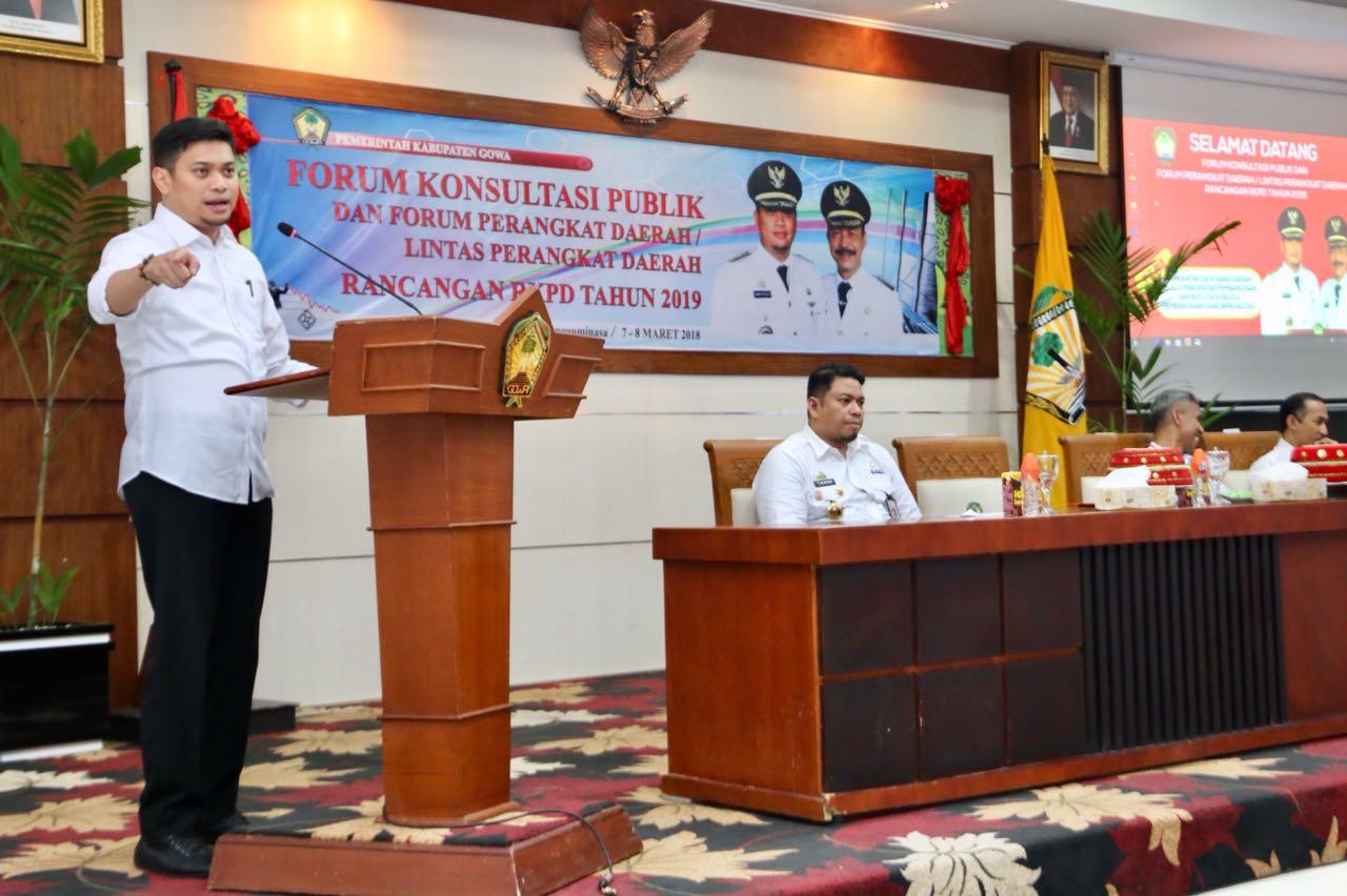 Bappeda Gelar Forum Konsultasi Publik Penyusunan RKPD Tahun 2019