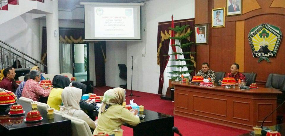 DPRD Banjar Belajar SKTB di Gowa