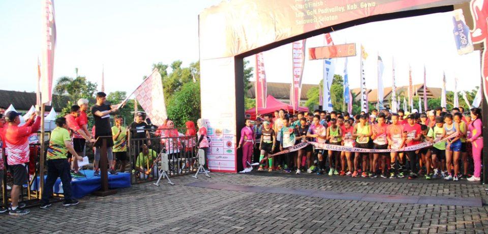 Adnan Lepas Peserta Galesong Trail Run 2018