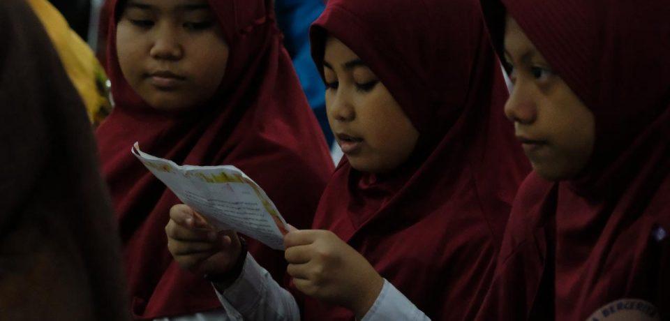 Gemar Baca Terus di Gelontarkan Pemkab Gowa
