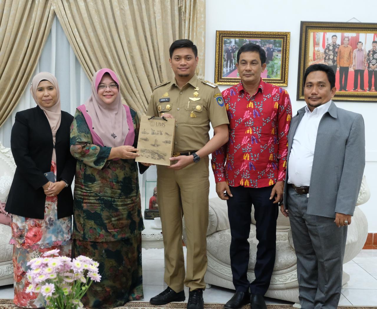 Universitas Malaysia Menjajaki Kerjasama Pendidikan di Gowa